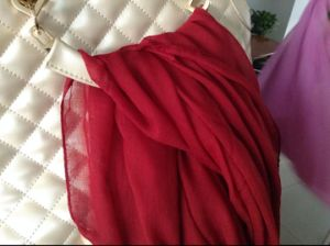 Spun Polyester Voile Fabric pictures & photos