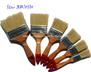 Whitle Bristle Paint Brush with Wooden Handle