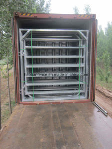 2.1m Oval Cattle Yard Livestock Corral Panel pictures & photos