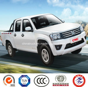 4X4 Petrol /Gasoline Double Cabin Pick up Car (Long Cargo Box, Luxury) pictures & photos
