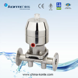 Stainless Steel Sanitary Diaphragm Valve with CE Certificate pictures & photos