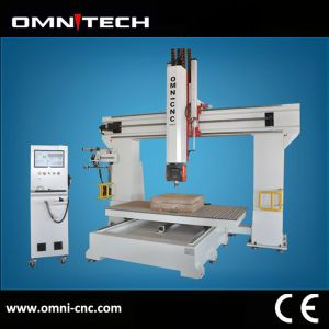 5 Axis Wood CNC Router / 5 Axis Router CNC / 5 Axis CNC Router Machine Price for Foam EPS Styrofoam Wood pictures & photos