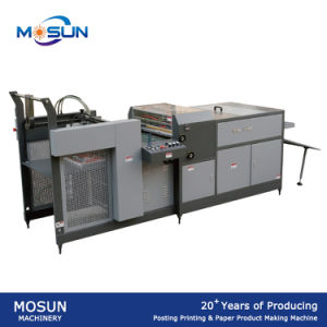 Msuv-650A Automatic Feeding Thick with Air Knife UV Coating Machine pictures & photos