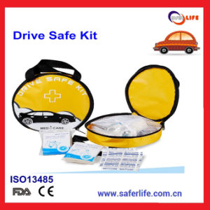 Nylon Portable Drive Car First Aid Kit Bag for Outdoor Use pictures & photos
