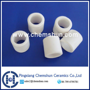 Alumina Ceramic Raschig Ring for Chemical Fillings Ceramic Saddles Supplier pictures & photos
