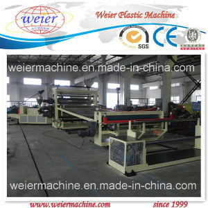 PVC Waterproof Rolls Extrusion Line pictures & photos