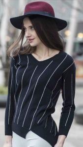 Ladies′ Fashion Cashmere Sweater (1500002061) pictures & photos