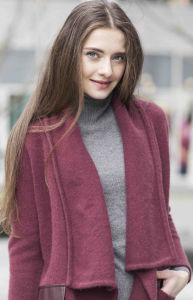 Ladies Cashmere Sweater with Leather (1500002016) pictures & photos