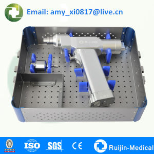 medical canulated bone drill for K-wire and intramedullary nail pictures & photos