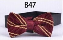 New Design Fashion Men′s Knitted Bowtie (B47) pictures & photos