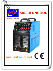 Pulse TIG/MMA/Cut Multifunctional Welding Machine (SUPER-200PB)