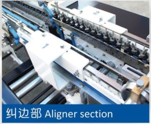 Automatic High Speed 4/6 Corner Folding Gluing Machine (GK-1100GS) pictures & photos