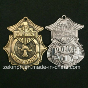 Products Custom Police Zinc Alloy Metal Brass Medal for Sales pictures & photos