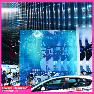 Transparent LED Window Display Striip pictures & photos