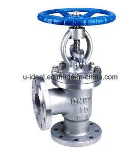 Cast Steel Angle Globe Valve pictures & photos
