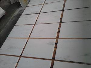 Statuary White/Oriental White/Danba White/Carrara White Marble Tile pictures & photos