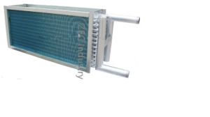 Hydrophilic Al Finned Expanded Stainless Steel Tube Condenser Heat Exchanger pictures & photos
