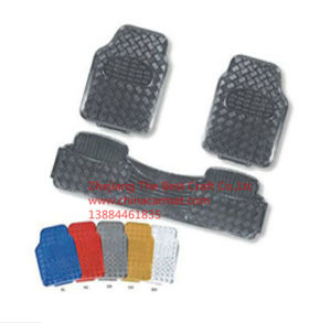 Bt 1005 Metal Car Mat 3PCS/ Chorme Mats/Aluminium Car Mats pictures & photos
