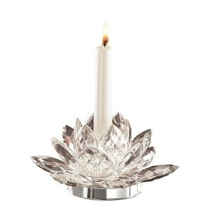 Fashine Crystal Glass Candle Holder for Home Decoration Bless pictures & photos