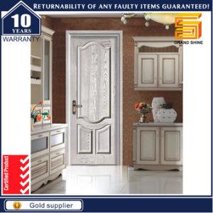 Exterior MDF Panel Interior Solid Wooden Veneer Wood Door pictures & photos