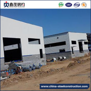 High Technology Prefab Steel Construction Building for Workshop (Steel Structure) pictures & photos