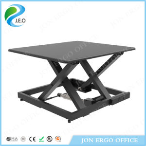 Jn-Ld09e-S Electric Height Adjustable Sit Stand Desk pictures & photos