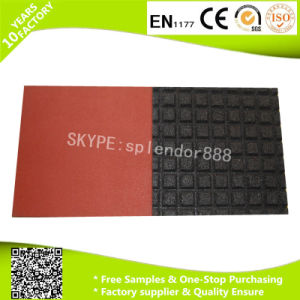 China Cheap Safety Outdoor Rubber Flooring for Playground Rubber Mat pictures & photos