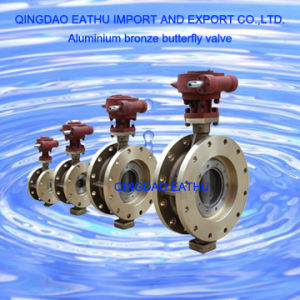 High Quality Aluminium Bronze Butterfly Valve pictures & photos