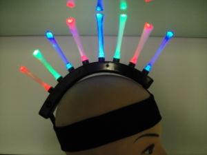LED Headwear, Headwear Online, Headwear Online, Rainbow Flashing Mohawk (999)