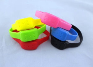 Customized Silicone Repellent Mosquito Wristbands From China pictures & photos