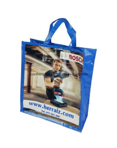 Custom Logo Printed PP Woven Bag pictures & photos
