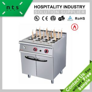 Gas Noodle Cooker with Cabinet for Hotel & Restaurant & Catering Kitchen Equipment pictures & photos