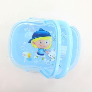 Cartoon Blue Plastic Lunch Box Food Container pictures & photos