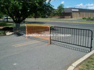 Crowd Control Steel Barricade - Orange pictures & photos