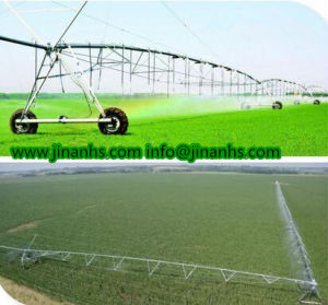 Four-Wheels/Two-Wheels Lateral Move Center Pivot Irrigation System Machinery for Irrigating pictures & photos