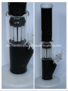 Straight Arm Tree Percolator Glass Water Pipes Smoking Bubbler Factory Direct Water Pipe pictures & photos