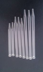 Pallina Clear Glass Tube for Dropper Pipette pictures & photos
