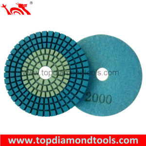 Diamond Flexible Polishing Pads with 2 Colors pictures & photos