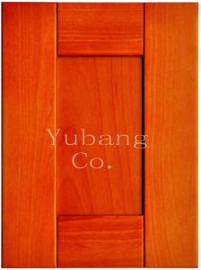 Solid Wood Kitchen Cabinet Door (#YJ-016) pictures & photos
