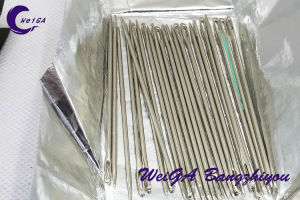 Crown Brand Electroplating of High Quality Sewing Needle pictures & photos