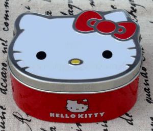 Cute Hello Kitty Tin Box/Tin Gift Box /Tin Candy Box pictures & photos
