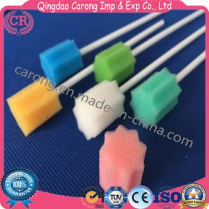 Sterile Medical Disposable Plastic Sponge Brush pictures & photos