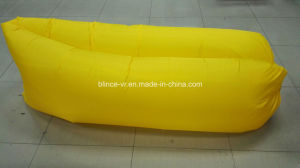Beach Lounger Inflatable Sofa Lazy Sleeping Bed with Carry Bag pictures & photos