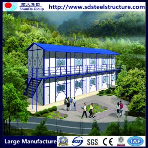 Portable Prefabricated Steel Structure Building for Construction Site pictures & photos
