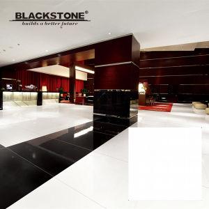 Double Loading Polished Porcelain Super White Floor Tile (JE6000) pictures & photos