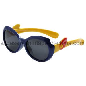 Promotional Fashion UV400 Custom Logo 2017 Kids Brand Orange Sunglasses pictures & photos