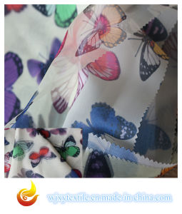 Printed Polyester Organza Fabric for Women′s Dress (XY-P20150030S) pictures & photos