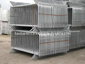 Galvanized Metal Crowd Control Barrier / Traffic Barrier pictures & photos