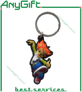 3D Soft PVC Keyring with Customized Shape and Logo 14 pictures & photos