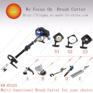 Five in One Multi Fuction Brush Cutter of 42.7cc Displacement and with 1e40f-5 Engine